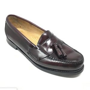 Men's Bass Harrison II Loafers Dress Shoes Sz 9.5D